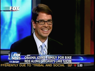 Excitable Fox News correspondent Griff Jenkins