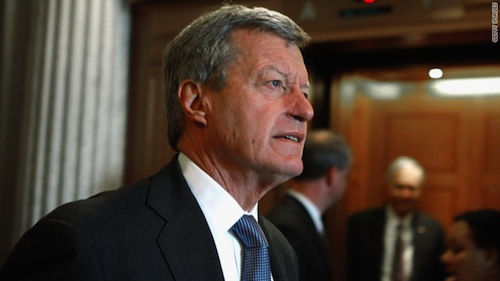 Max Baucus (D–MT,) chairman of the Senate Finance Committee