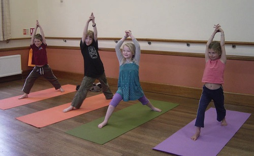 Some kids suck at yoga and probably eat a lot of carbs.