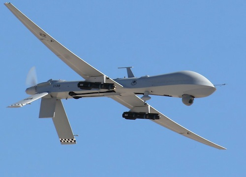 The drone that captured our hearts or, if that was not possible, incinerated them with a missile