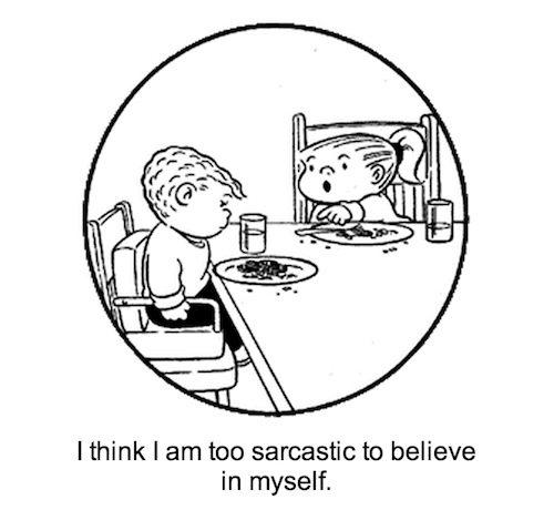 From The Nietzsche Family Circus, which randomly pairs Nietzsche quotes with panels from the comic