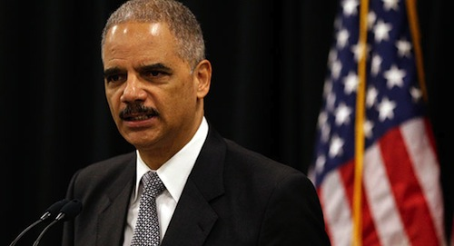 Attorney General Eric Holder is more likable if you refer to him as Crime Dog Eric Holder.