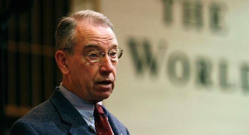 Senator Chuck Grassley (R–IA)