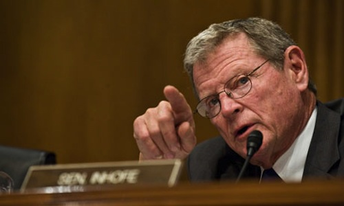 "Sen. James Inhofe (R-OK,) who called Benghazi more ""egregious"" than Watergate"