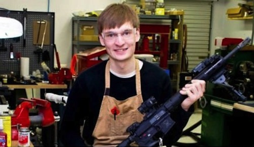 Brennan Moss of Moss Firearms in nearby Jasper, GA
