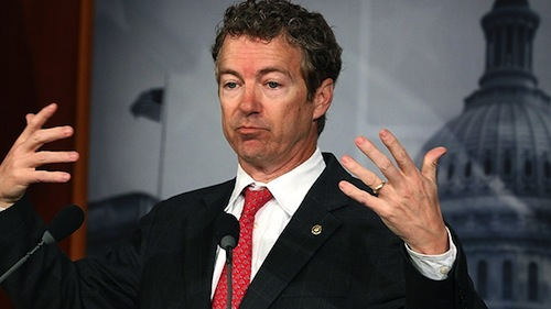 Rand Paul (R–KY) describes to the Senate Roommates Committee how he blew it with a drunk girl.
