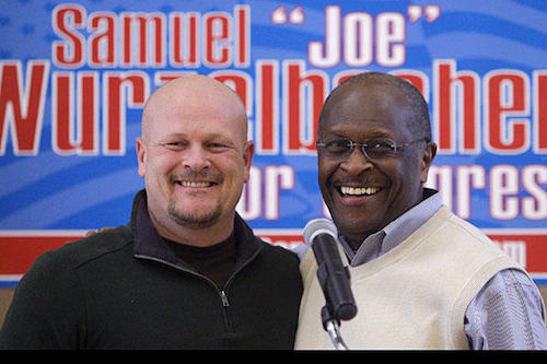 I'm not trying to scare you, but Joe the Plumber is still pretty famous.