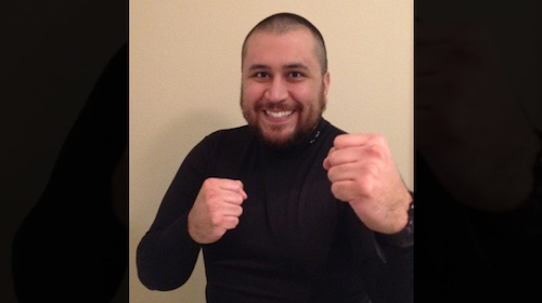 George Zimmerman prepares to make the second-worst mistake of his life.