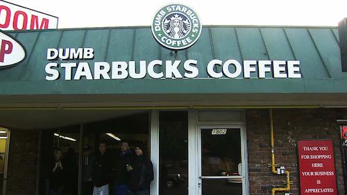 Dumb Starbucks, a mysterious coffee shop that opened in Los Feliz last weekend, was a prank by Nathan Fielder.
