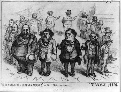 by Thomas Nast—the cartoonist, not my rap name