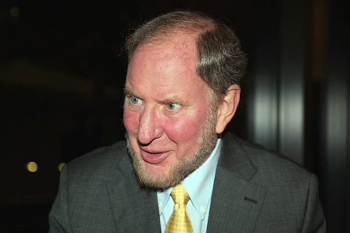 Harvard academic Robert Putnam, who has come all this way with no one saying anything to him about his beard