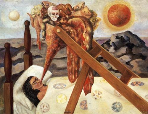 """Frida Kahlo's """"Without Hope"""""""
