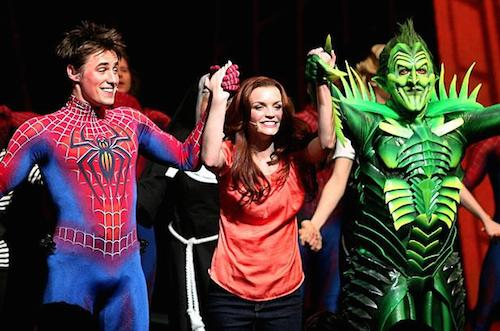 The cast of Spider-Man: Turn Off the Dark relishes the thrill of simply being alive.