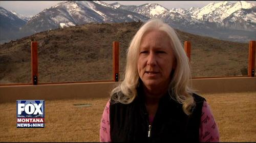 Suspended Ravalli County treasurer Valerie Stamey, now the object of a lawsuit