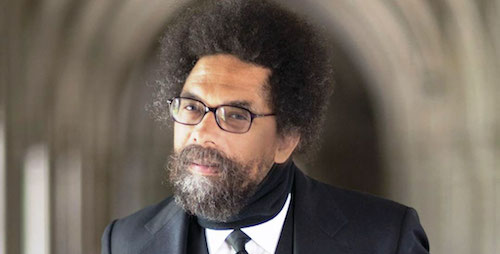 Cornel West, who would never succumb to affectation