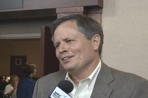 Convicted goblin Steve Daines hears the end of Hansel and Gretel.