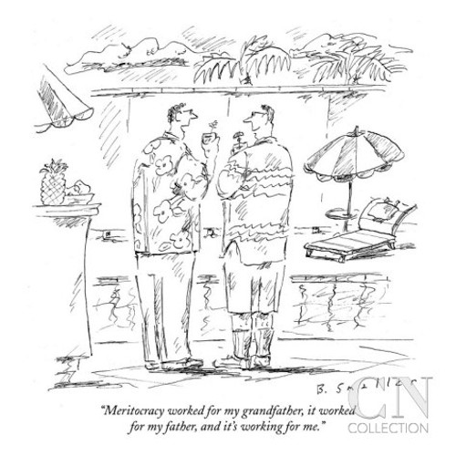 A New Yorker cartoon by Barbara Smaller, owned by Conde Nast