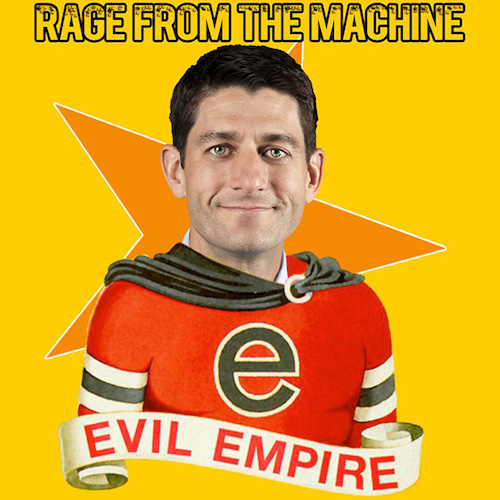 A possibly Photoshopped image of Rep. Paul Ryan