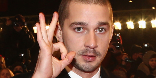 Shia LaBeouf does even this unnaturally.