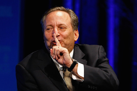 Former US Treasury Secretary Larry Summers