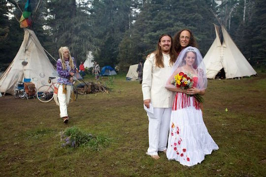 Dangerous extremists at the Rainbow Gathering