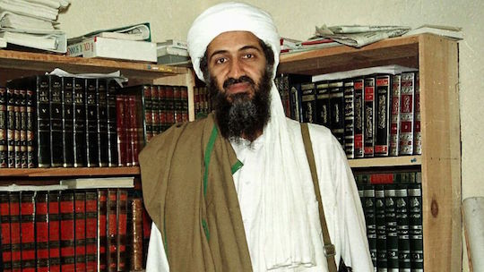 America's two greatest enemies, Osama bin Laden and books