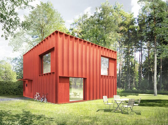 A rendering of the Hemnet Home by Tham & Videgard of Sweden