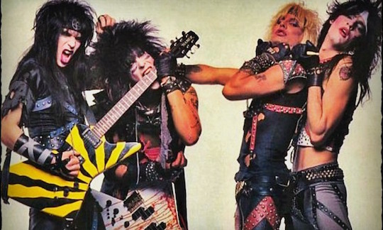Motley Crue in the Decade of Decadence era