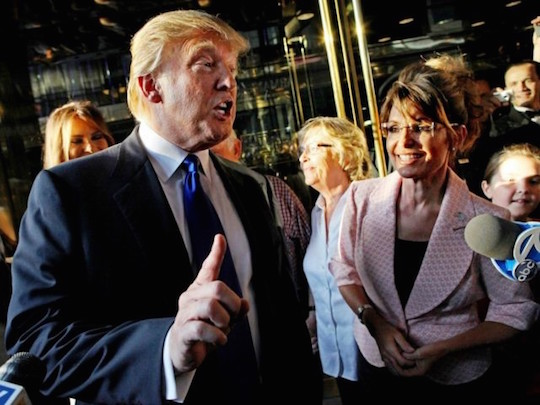Sarah Palin tries to remember the word for that feeling you get when someone else is talking.