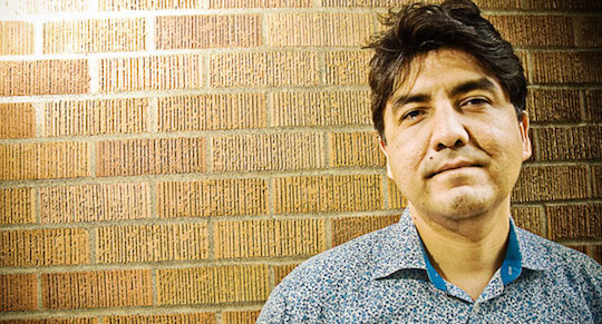 Unlucky poetry judge Sherman Alexie