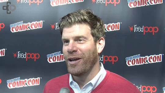 Comedian Steve Rannazzisi at an unknown event. Where could he be?