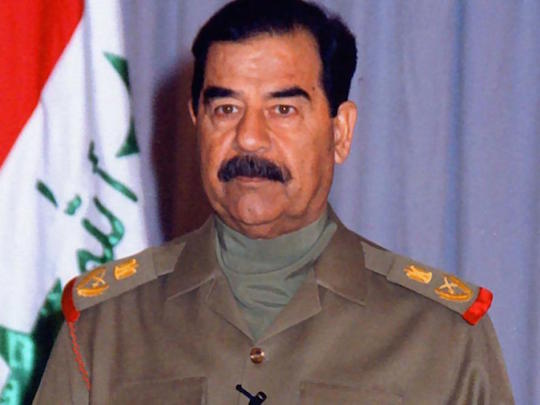 Saddam Hussein was not technically involved in 9/11, but you know he liked it.