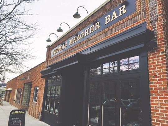 The Thomas Meagher Bar in downtown Missoula