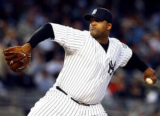 Yankees pitcher CC Sabathia