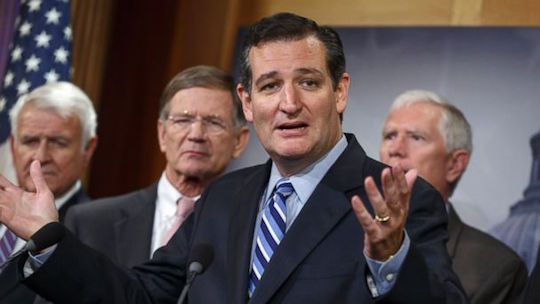 Ted Cruz makes his truth-telling face.