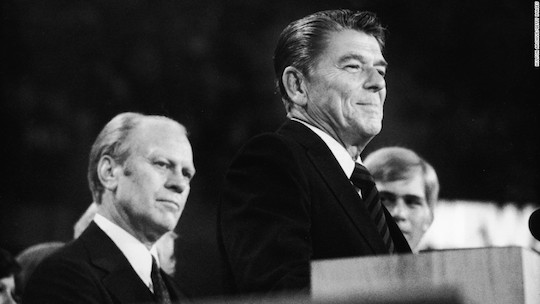 Ronald Reagan gets the last word at the brokered GOP convention of 1976.