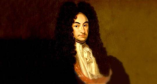 Gottfried Leibniz and his wig