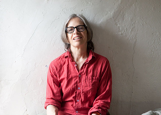 Author and feminist Eileen Myles