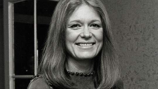 Feminist icon and Bill Maher-tolerator Gloria Steinem