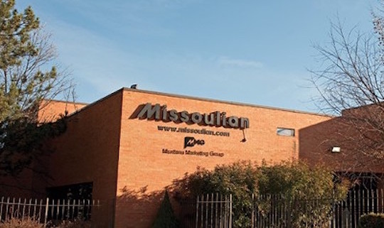 The Missoulian offices, photographed by Cathrine Walters