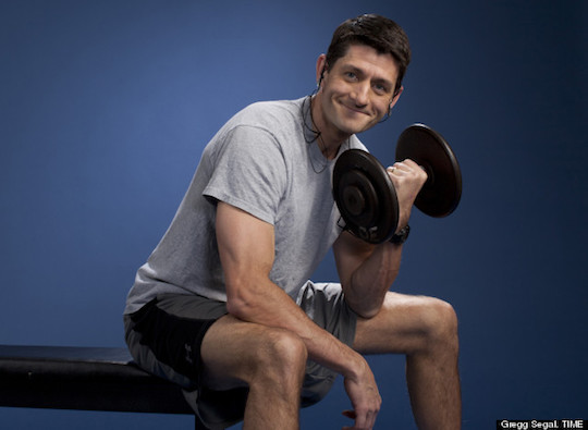 Paul Ryan in the photo series that will forever haunt his career