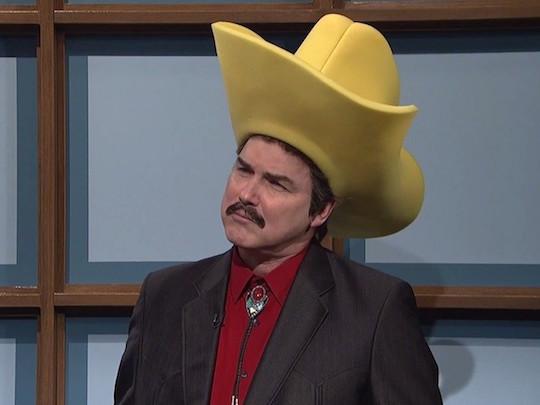Norm Macdonald as Burt Reynolds on Saturday Night Live