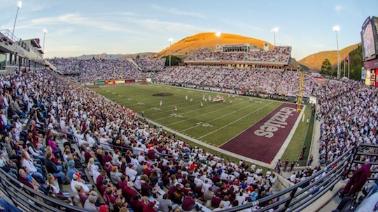Washington-Grizzly Stadium at the University of Montana