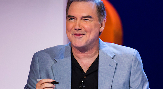 Norm Macdonald, the master, ages.